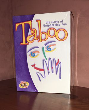 Taboo Board Game for Sale in Charlotte, NC