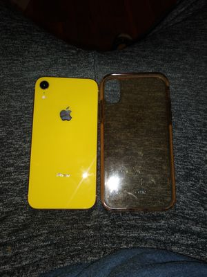 Sprit Yellow iphone XR for Sale in Kansas City, MO