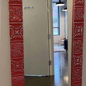Vintage Red Mirror For Sale for Sale in Arlington, VA