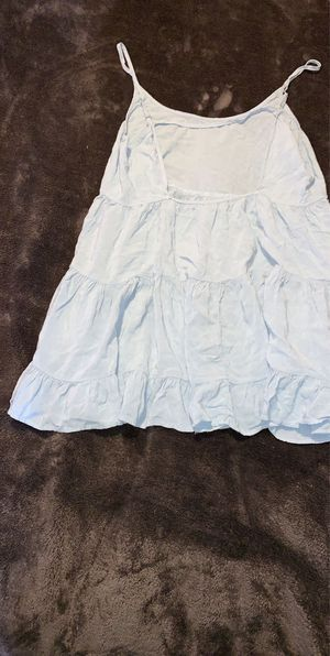 Brandy Melville Baby Blue Dress 💘 short cute casual dress open back for Sale in Los Angeles, CA
