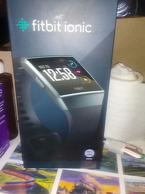 Fit Bit ionic (unopened)Sm-Lg for Sale in Portland, OR