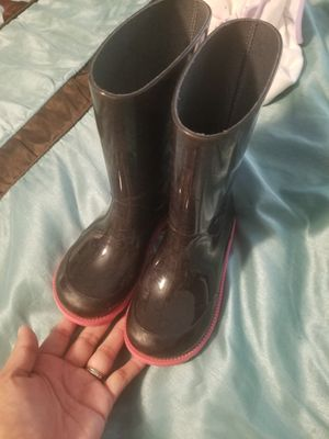 Gucci Rain Boots size 9c Authentic for Sale in Houston, TX