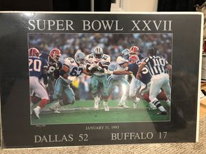 Cowboys super bowl collectors edition wall pictures for Sale in Ijamsville, MD
