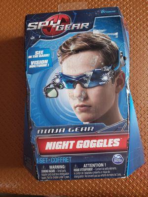 Night goggles & x vision goggles for Sale in Greeneville, TN
