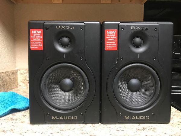M- Audio BX5a Studiophe Speakers