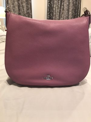 Coach purse in dark pink for Sale in Leander, TX