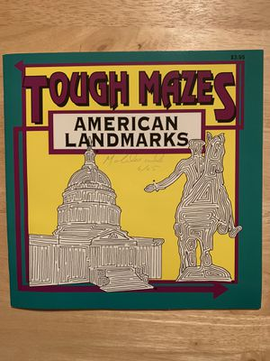 Tough Mazes Book for Sale in Buffalo, NY