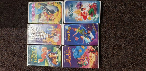 Disney Classic and Masterpiece Collection VHS