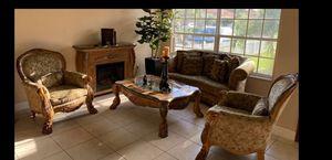 AICO by Michael Amini livingroom set. PLEASE READ DESCRIPTION for Sale in Lake Worth, FL