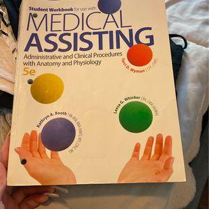 Medical Assisting Workbook for Sale in Hayward, CA