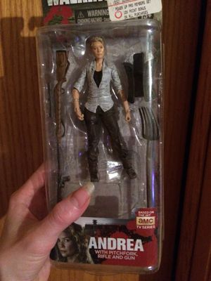The walking dead McFarlane action figure Andrea hard to find! for Sale in Lincoln, NE