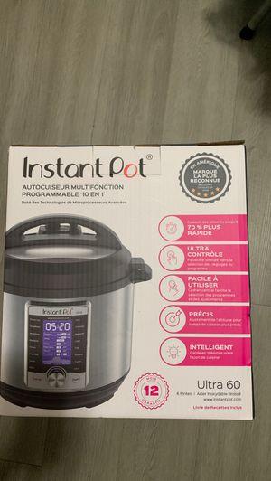 Instant pot 10in1 ultra 60 for Sale in Redlands, CA