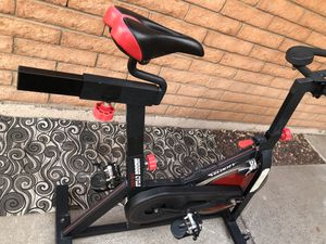 Stationary workout bike / bicycle. Works great and in good condition...$175 OBO for Sale in Glendale, AZ