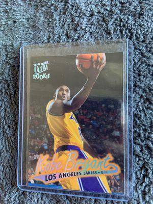 Kobe Bryant Rookie Card Ultra Fleer 1996 for Sale in Garden Grove, CA
