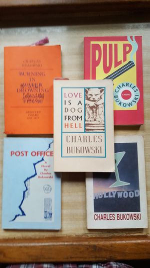 Charles Bukowski books. for Sale in Akron, OH