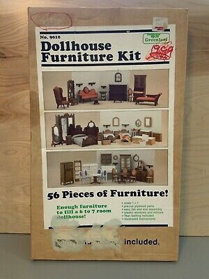 Dollhouse Furniture Kit 56 PC. Made by Greenleaf. Circa 1982. for Sale in Coffeyville, KS