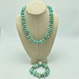 Silpada Howlite & Sterling Necklace with Bracelet Set for Sale in Magna, UT