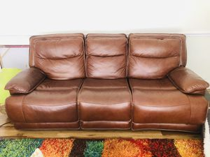 Electric Recliner sofa excellent conditions for Sale in South Miami, FL