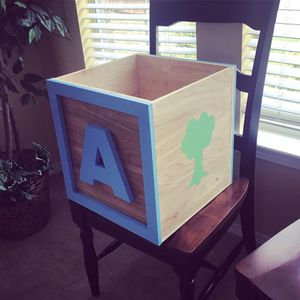 Building Block Toy Box for Sale in McKinney, TX