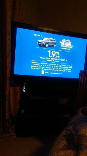 Philip's $300 tv and stand 55 inch for Sale in Haines City, FL