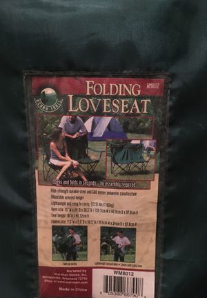Camping Chair - Loveseat for 2 for Sale in Pittsburgh, PA