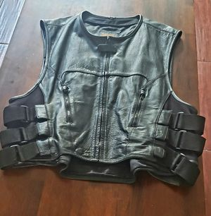 Motorcycle vest for Sale in Strathmore, CA