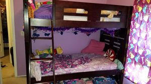 Twin over twin bunk bed for Sale in Portland, OR