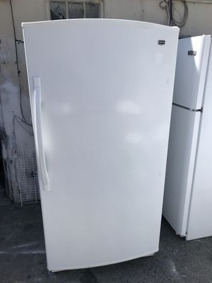 Used,18 cu,ft Maytag all freezer, white color, automatic defrost , great condition for Sale in San Jose, CA