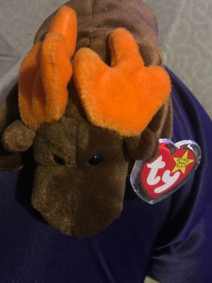 Chocolate 1993 beanie baby with tag errors rare star tag for Sale in Las Vegas, NV