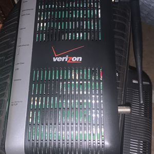 used Verizon Modem Router Wi Fi Internet No Wires for Sale in New York, NY