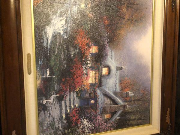 Thomas Kinkade Painting