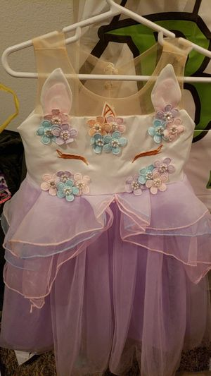Unicorn dress for Sale in Lynnwood, WA