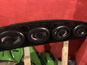 4Boss speaker wall!! for Sale in Erie, PA