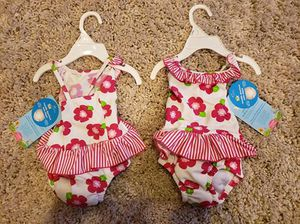 12 months Swimsuit with built on diaper. Brand New!! for Sale in Apex, NC