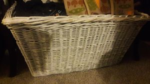 FREE BIG Wicker Basket*PENDING PICKUP* for Sale in Tacoma, WA