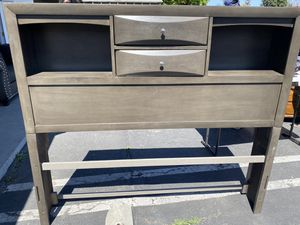 Queen Size Greyish Head Board for Sale in East Compton, CA