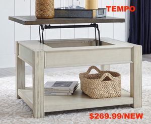 Dolanburg Lift Top Coffee Table, Brown/ White for Sale in Garden Grove, CA