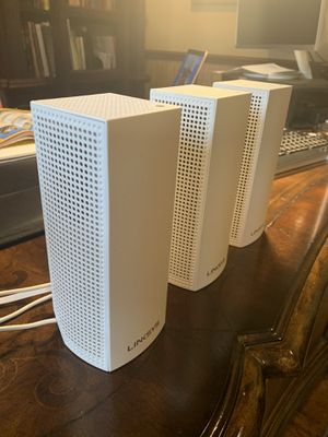 Linksys wholehouse WiFi system for Sale in Boca Raton, FL