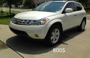 Crazy*Good*Perfectly*2OO3 Nissan Murano for Sale in Baltimore, MD