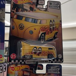 Hot Wheels 2021 Boulevard MIX 1 US Walmart Exclusive - #25 Volkswagen Drag Bus for Sale in Lake Elsinore,  CA