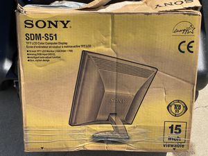 SONY COMPUTER MONITOR for Sale in Huntington Beach, CA