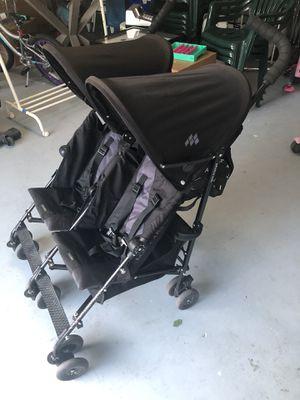 Maclaren Twin Double Stroller in Black for Sale in Redwood City, CA