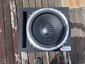 "12"" subwoofer for Sale in Everett, WA"