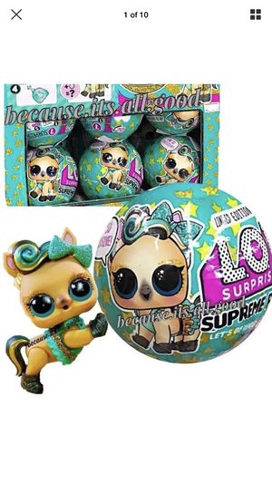 Lol surprise supreme pet target Exclusive for Sale in Manassas, VA