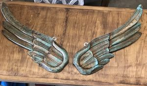 Large wood hand carved angel wings for Sale in Austin, TX