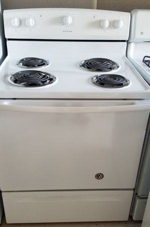 amana electric stove everything works great clean in n out for Sale in Lathrop, CA