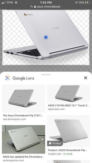 Google chrome book laptop asus broke screen for Sale in Owensboro, KY