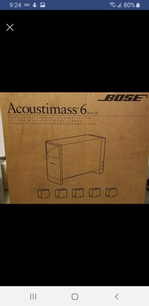 Bose Acoustimass 6 for Sale in Columbus, OH