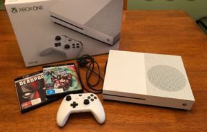 XBOX ONE S WITH REMOTE & GAMES for Sale in Stewartville, MN