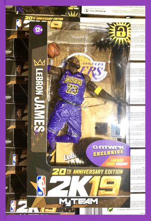 LAKERS LEBRON JAMES RARE FIGURE MCFARLANE NBA COLLECTOR for Sale in Artesia, CA